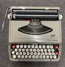 Smith Corona Typewriter with Case