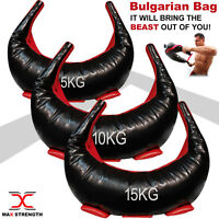 Bulgarian Bag Power Sand Bag Strength MMA Boxing Body Training CrossFit Exercise