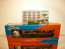 TEKNO HOLLAND DAF XF 95 480 TRUCK+TRAILER DIJCO GREENERY 1:50 - EXCELLENT IN BOX