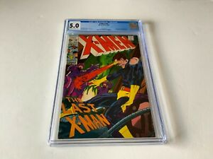 X-MEN 59 CGC 5.0 NEAL ADAMS SCARLET WITCH QUICKSILVER MARVEL COMICS 1969
