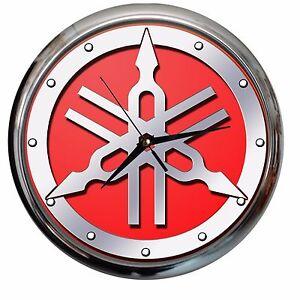 orologio da parete YAMAHA auto officina garage meccanico