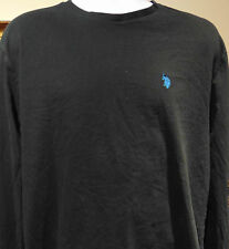 U.S. Polo Assn Men's Long sleeve black T-Shirt XL
