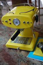 Illy Francis Francis Espresso Machine Ground Coffee X1 YELLOW 230 VOLT Perfect