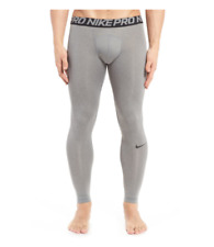 Nike Pro Cool Men's Compression Training Tights Gray Size XL B3388