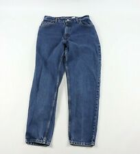Vintage 90s Levis Womens Size 12 550 Relaxed Tapered Fit Mom Jeans Blue Cotton