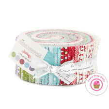 Moda COOKIE EXCHANGE Sweetwater JELLY ROLL 40 strips Quilting Fabric CHRISTMAS