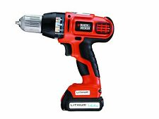 Black & Decker 14.4V Lithium-Ion Combi Drill Auto Speed Power Select Technology