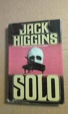 Solo by Jack Higgins 1980 Hardcover Good Condition