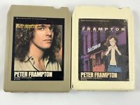 Lot Of 2 Peter Frampton 8 Tracks Where I Should Be & Breaking All The Rules
