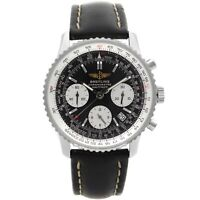 Breitling Navitimer 42mm Steel Black Dial Automatic Mens Watch A2332212/B435