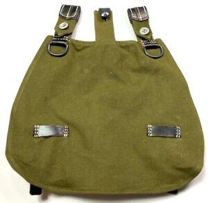 WWII GERMAN M31 BREAD BAG BREADBAG-GREEN