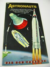 VTG PAPER DOLLS TOY 1961 ASTRONAUTS GOLDEN FUNTIME PUNCH BOOK UNUSED!!! giant
