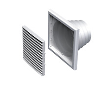 Air Vent Grille COVER 185x185mm bianco LA VENTILAZIONE MULTITAGLIA CONDOTTO (MV 121 VNS)