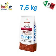 MONGE MINI ADULT AGNELLO 7,5 KG CROCCHETTE CIBO SECCO ALIMENTO NATURALE PER CANE
