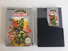 Turtles II-The Arcade Game | neuf dans sa boîte CIB | NES PAL | Teenage Mutant Hero Turtles 2