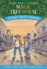 Magic Tree House: Ghost Town at Sundown No. 10 by Mary Pope Osborne (1997, Paper