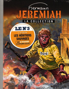 BD - JEREMIAH, TOME 3 > LES HERITIERS SAUVAGES / HERMANN, DOS TOILE, NEUF