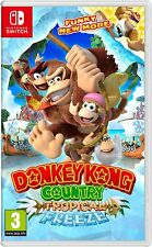 Donkey Kong Country: Tropical Freeze (Nintendo Switch) BRAND NEW SEALED