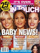 In Touch Weekly Magazine SPEARS/LOPEZ/JOLIE 5/29/06