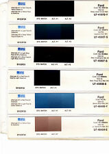 1988 1989 1990 1991 1992 1993 1994-1996 FORD CARS MUSTANG TRUCKS PAINT CHIPS SW