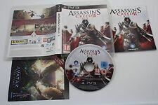 PLAY STATION 3 PS3 ASSASSIN'S CREED II 2 COMPLETO PAL FRA