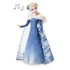 "New Disney Store Frozen Elsa Singing Doll 11"" Toy"