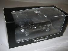 1:43 Mini Cooper Clubman 2007 Black metal 1 of 1008 MINICHAMPS 431138672 OVP new