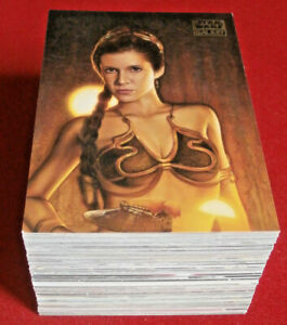 STAR WARS GALAXY SERIES 7 - COMPLETE BASE SET (110 cards) - Topps 2012