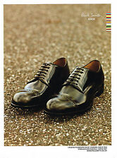 PUBLICITE ADVERTISING 114  2008  PAUL SMITH   chaussures homme