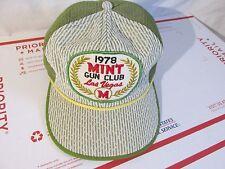 1978 Mint Gun Club Las Vegas MESH SnapBack  Mens Trucker Baseball  Hat Cap