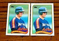 1989 Topps #49 Craig Biggio RC - Astros HOF  (2)