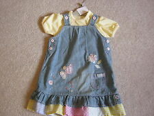 Denim NEXT Casual Dresses (0-24 Months) for Girls