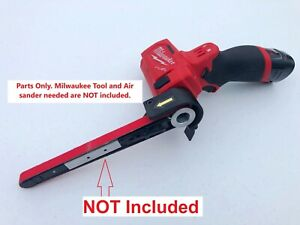 "Belt Sander CONVERSION PARTS FOR Milwaukee M12 Cut Off Saw 2522-20, 1/2"" x 18"""