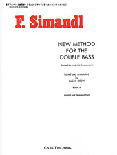 """""""F. Simaldl-New Method For The Double Bass"""" Music Book 2-Brand New On Sale!"""