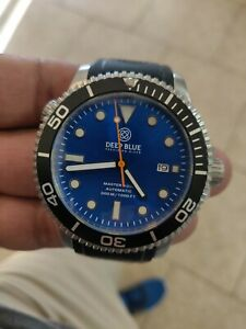 Deep Blue Master 1000 automatic