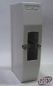 Clipsal 4CC1 Surface Mount Switchboard Enclosure 1 Module Plastic White IP20