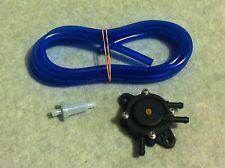 """1/4"""" ID Blue Fuel Line Fuel Filter Fuel Pump Honda Predator Golf Cart Go Kart"""