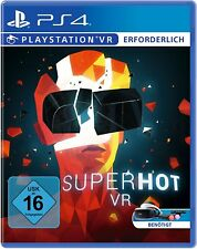 Superhot VR (VR-only) ps4 PlayStation 4!!! nuevo + embalaje orig.!!!
