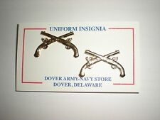 US ARMY OFFICER METAL MILITARY POLICE MP COLLAR INSIGNIA  - 1 PAIR - ANODIZED