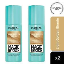 2 Pk L'Oreal Paris Magic Retouch Instant Root Concealer Spray Light Blonde, 75ml