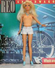Country Bumpkin Blonde Barbie Doll With Nipple Implants, Sexy Summertime Outfit
