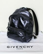 New! GIVENCHY blue metallic leather backpack rucksack Special Edition 2018