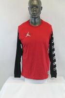 Nike Air Jordan L/S LEGACY XI 11 T-SHIRT RED/BLACK/WHITE CU1072-687