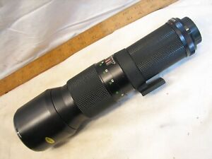 Vivitar 1:5.56 400mm SLR 35mm Camera Telephoto Lens Thread P Screw Mount