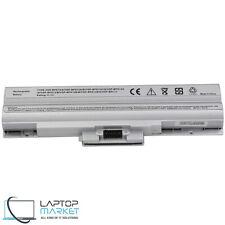 New Battery VGP-BPS21 BPS13 Sony Vaio VGN-AW VGN-FW VGN-SR VGN-BZ VGN-CS Silver