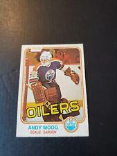 1981 O-PEE-CHEE Andy Moog ROOKIE Card #120