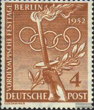 Berlin (West) 88 postfrisch 1952 Vorolympische Festtage