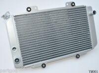 Aluminum Radiator For YAMAHA ATV QUAD GRIZZLY 660 YFM660F YFM66F 4x4 2002-2008 A