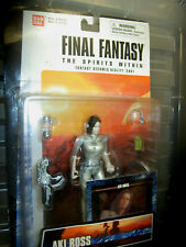 "FINAL FANTASY AKI ROSS & DR. SID THE SPIRITS WITHIN 6"" ACTION FIGURE SET NEW"