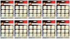 90x Steckdosen Kinderschutz zum einkleben | Kindersicherung Steckdosensicherung